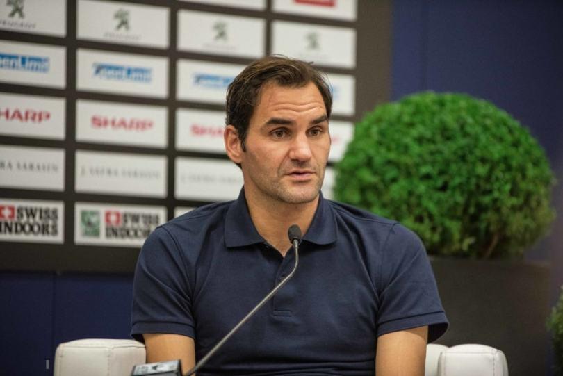 Roger Federer press conference before Basel 2019