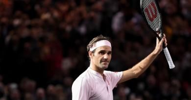 Roger Federer Paris Bercy 2019 - Draw