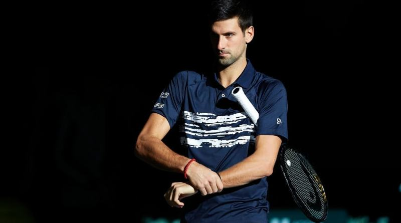 Novak Djokovic talks about Tsitsipas clash in Paris Bercy