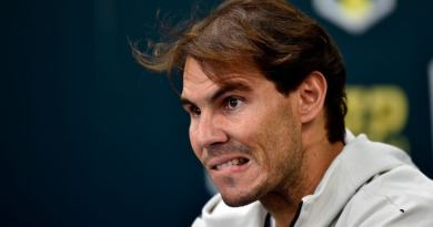 Rafael Nadal explains the injury He suffered in Paris Bercy