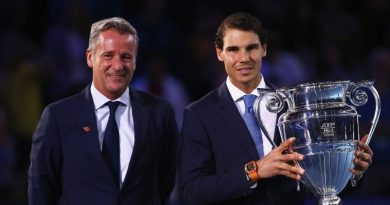 ATP president praises Rafael Nadal with the return to Top Ranking