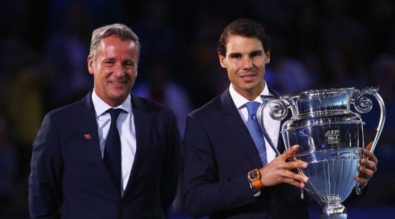 ATP president praises Rafael Nadal with the return to Top Ranking