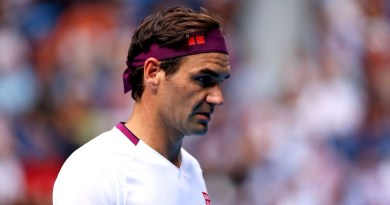 Roger Federer gives an update about his leg injury