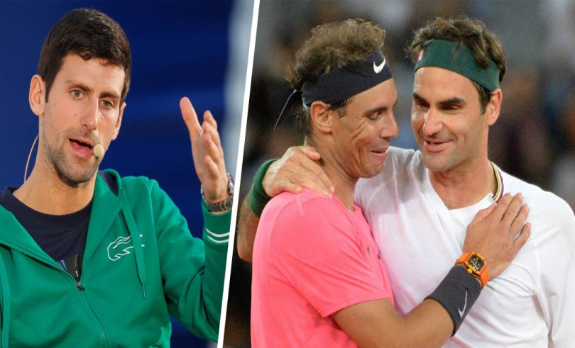 Novak Djokovic reveals a secret about Federer and Nadal