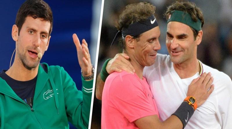 Novak Djokovic reveals a secret about Federer and Nadal