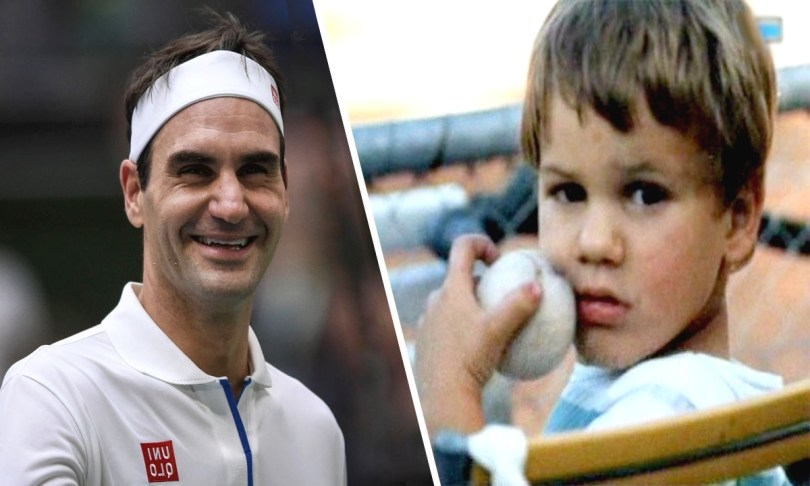 Roger Federer reveals his childhood habits 'I played with the wall'