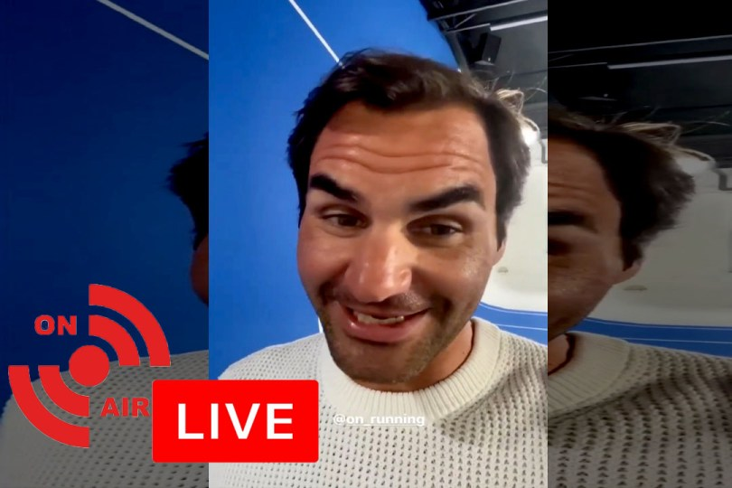 Watch Live: Roger Federer answers fans question