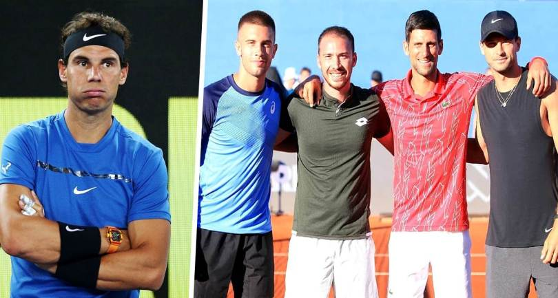 Rafael Nadal finally responds to Djokovic's Tour pandemic