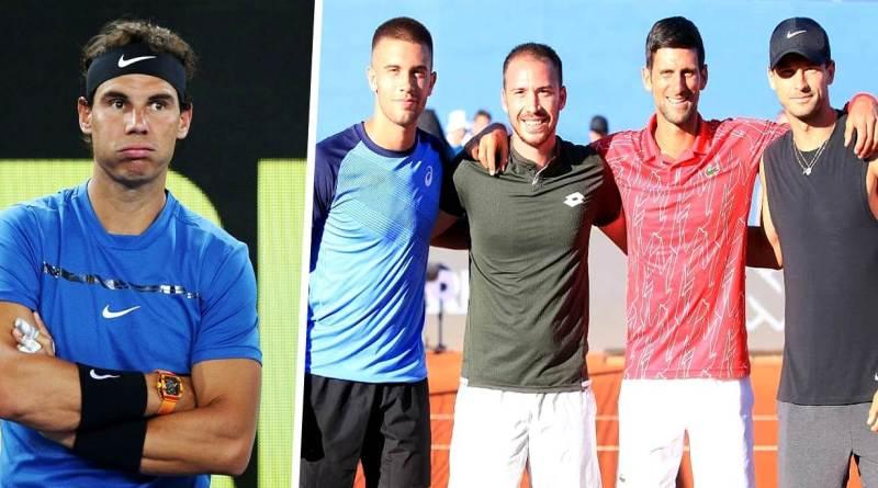 Rafael Nadal finally responds to Djokovic's Tour pandemic