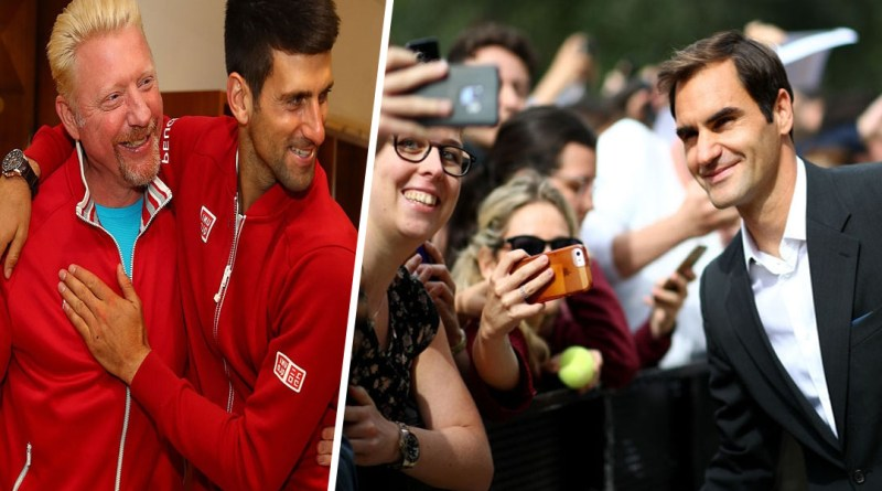 """Novak Djokovic is bothered not being as popular as Federer"" says Becker"