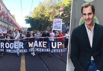 """People attack Roger Federer due to Climate Change """"#RogerWakeUp"""""""