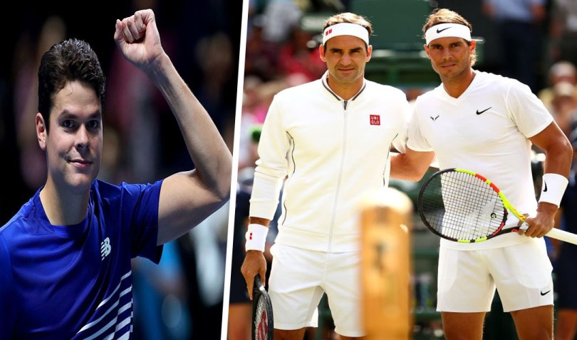 """""""Roger Federer and Rafael Nadal absence is never nice,"""" Raonic says"""