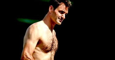 Roger Federer - Top 10 Shirtless pictures strong body