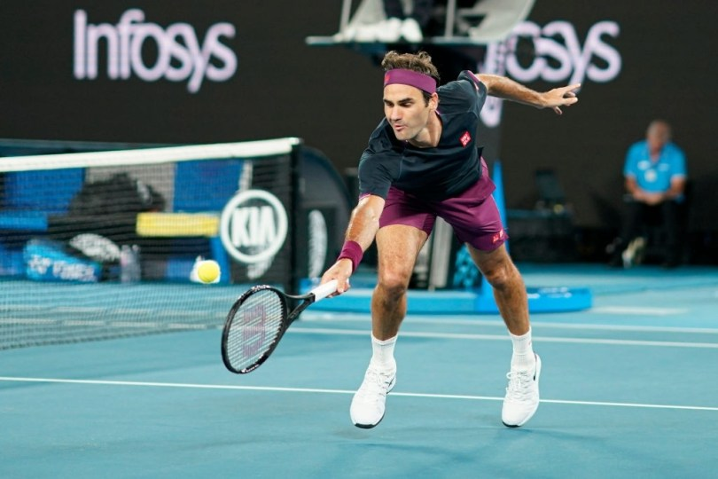 Roger Federer is not coming to reach QF but to win - Tennis legend says