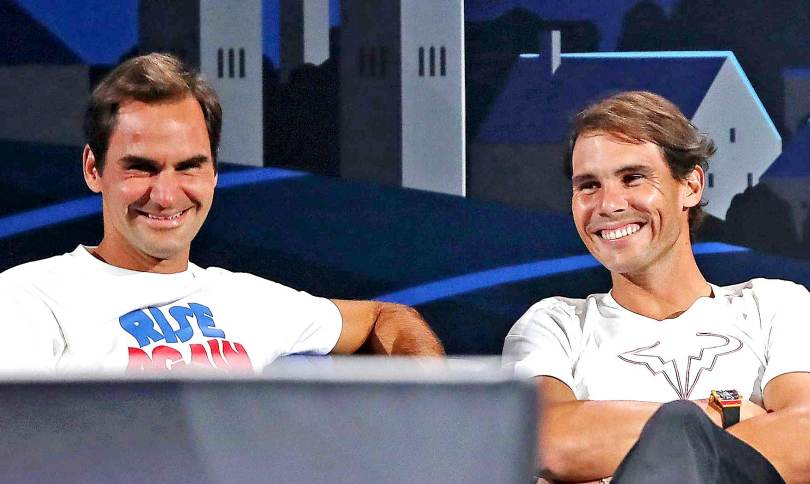 Roger Federer reveals He was talking to Rafael Nadal during injury recovery