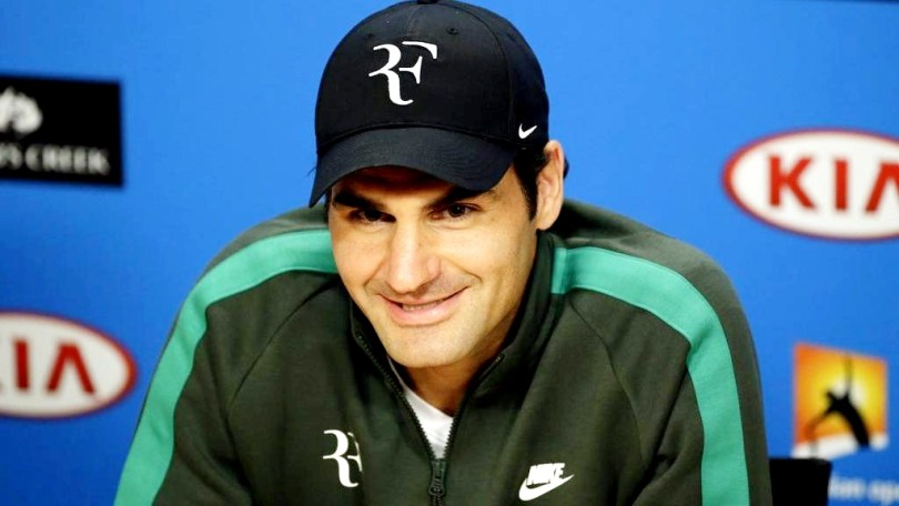 This is what Roger Federer said after getting his RF logo
