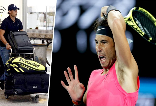 Rafael Nadal will go Alone to the Australian Open 2021 for the first time