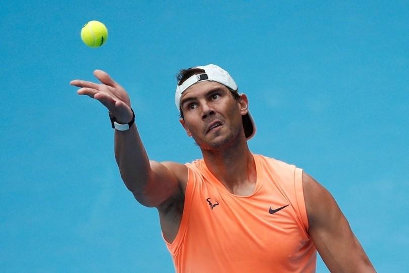 Rafael Nadal Australian Open 2021 - Draw