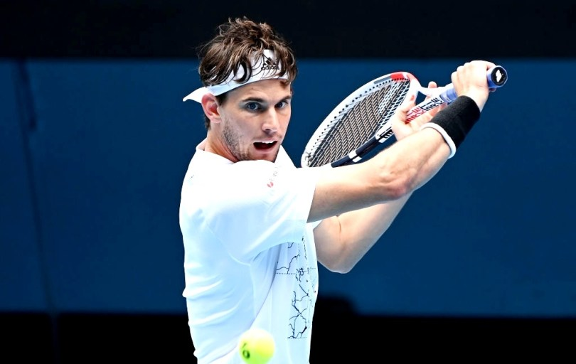 ' I'm happy for what happened Today ' Dominic Thiem says after 2R wins