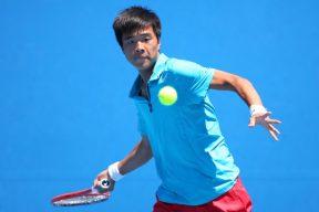 Fajing Sun Tennis Player