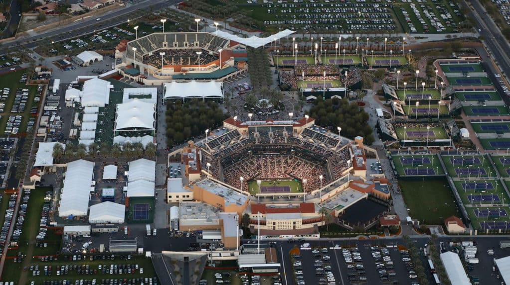 Indian Wells Tennis Center Grounds Map