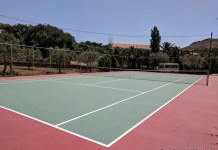 Tennis in Lesvos Greece