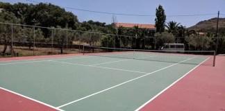 Tennis in Lesvos Greece