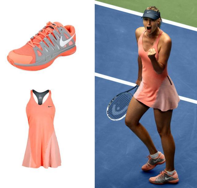 Atomic Pink Premier Maria Tennis Dress Tennis Fashion Fix: US Open 2013 – Maria Sharapova