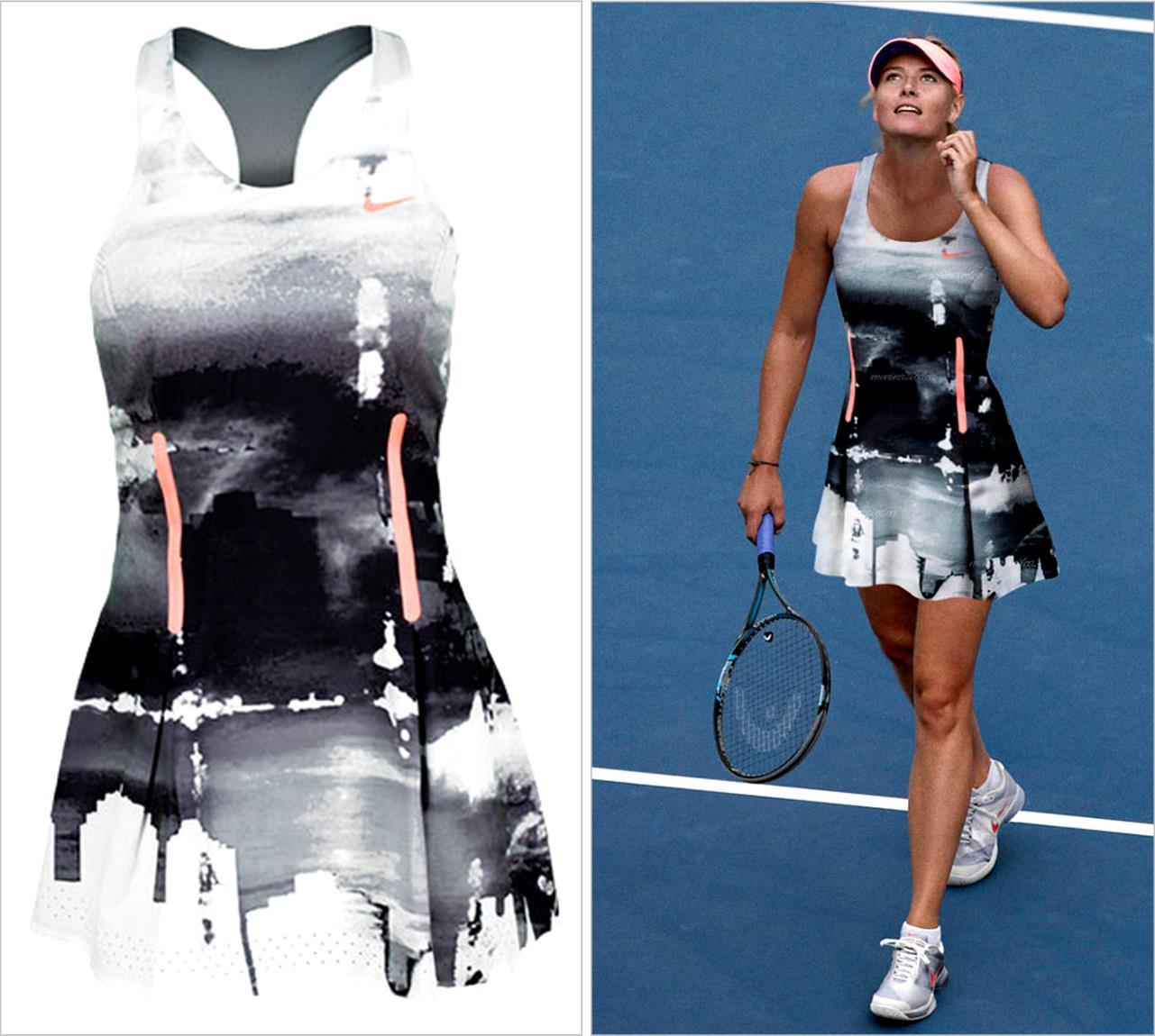 2013 US Open Maria Sharapova Nike Night Dress