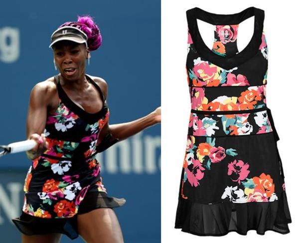 2013 US Open Venus Williams Day Dress Eleven