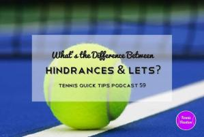Hindrances and Lets