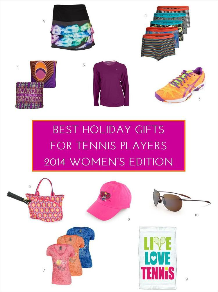Best Gifts for Tennis Players - Women's Edition 2014