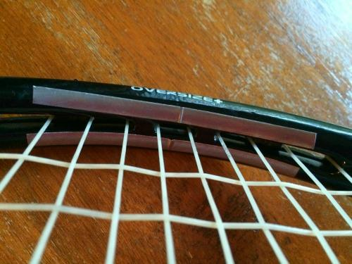 How To Add Lead Tape To Tennis Racquet - image 2