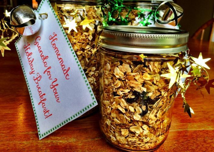 Healthy Homemade Granola Recipe - Finished