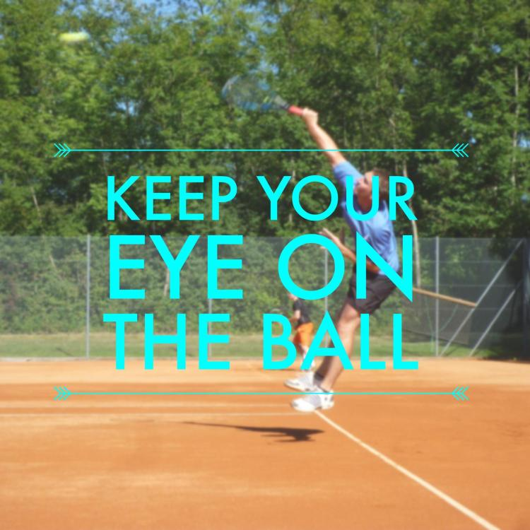 Simple Tennis Tip - Keep Your Eye on the Ball
