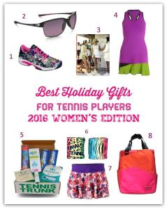 Best Holiday Gifts for Tennis Players – 2016 Women's Edition