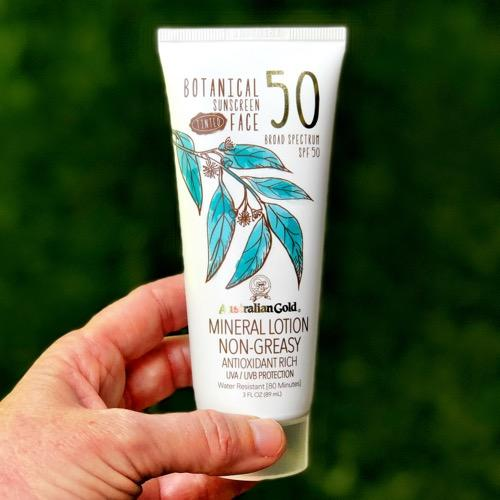 Australian Gold Facial Sunscreen - Recommended by Tennis Fixation