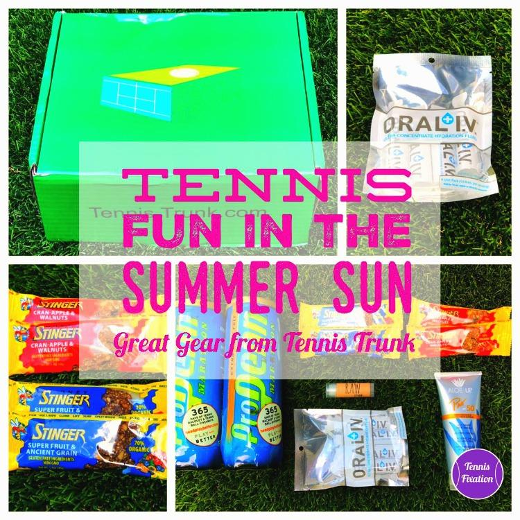 Tennis Fun in the Summer Sun - Tennis Gear from Tennis Trunk