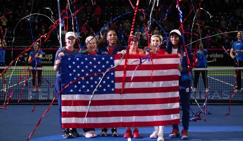 U.S. Fed Cup Team