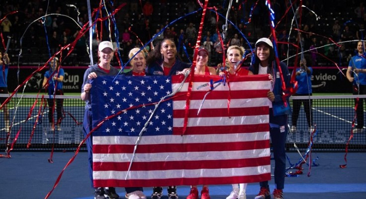 USA Edges Latvia In Fed Cup Thriller