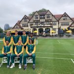 South African Davis Cup Team at Forest Hlls