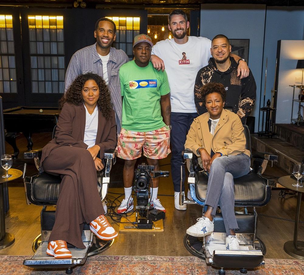 Naomi Osaka on HBO's the shop