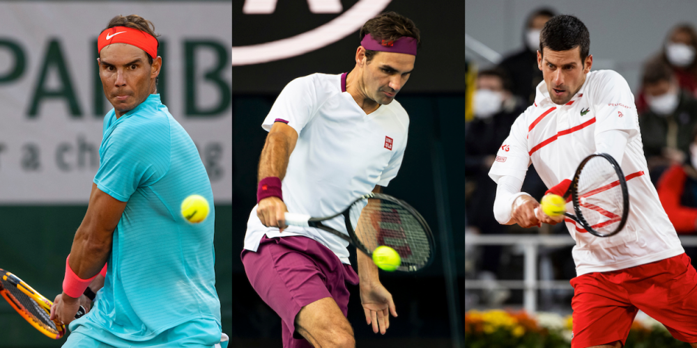 Federer and Nadal congratulate Djokovic for tying their Slam record