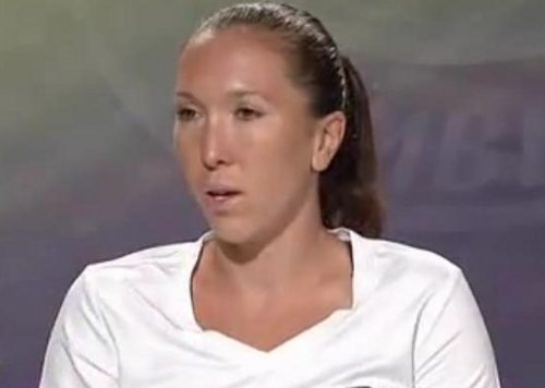 Jelena Jankovic post Wimbledon loss interview whites interview images photos screencaps pictures
