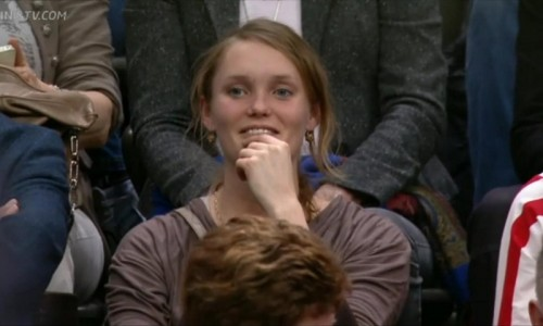 Federer fan appreciative stare smile Rotterdam photos pictures images screencaps