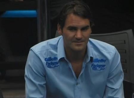 Roger Federer sly expression pictures Brazil