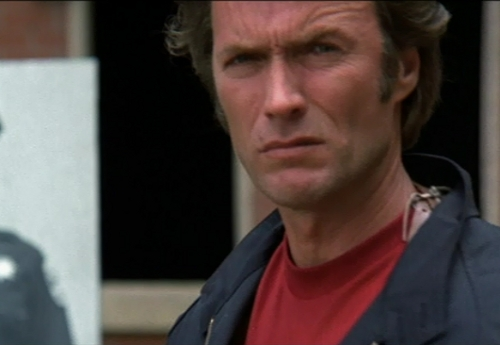 Clint Eastwood Magnum Force shooting range glare squint photos screencaps pictures