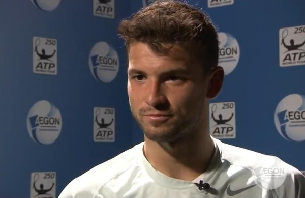 Grigor Dimitrov post-match interview Round 1 Queens 2013 Dimi Baby Fed close up gorgeous hot pictures images photos screencaps
