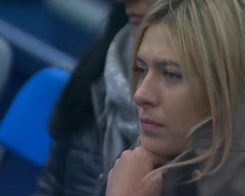 Maria Sharapova worried at Grigor Dimitrov match grass court season pics