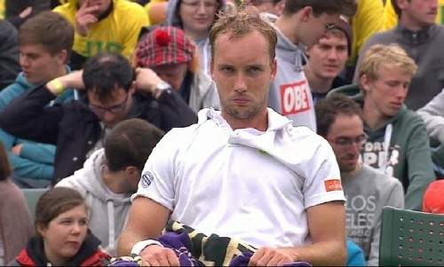 Darcis pout Nadal match Wimby 2013 Wimbledon pictures Rafa loses